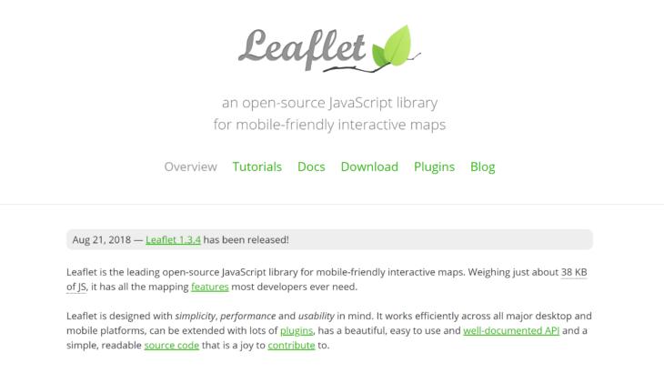 Google Mapの代わりに、Leafletを使おう